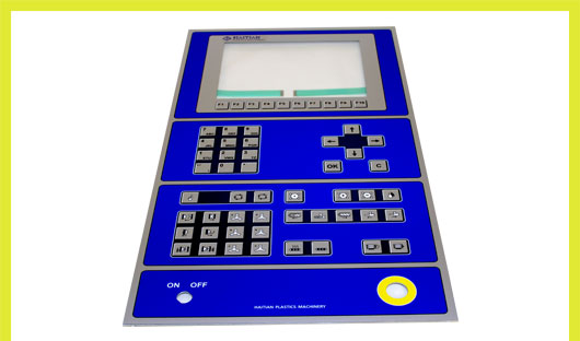 Gnad machine control panel